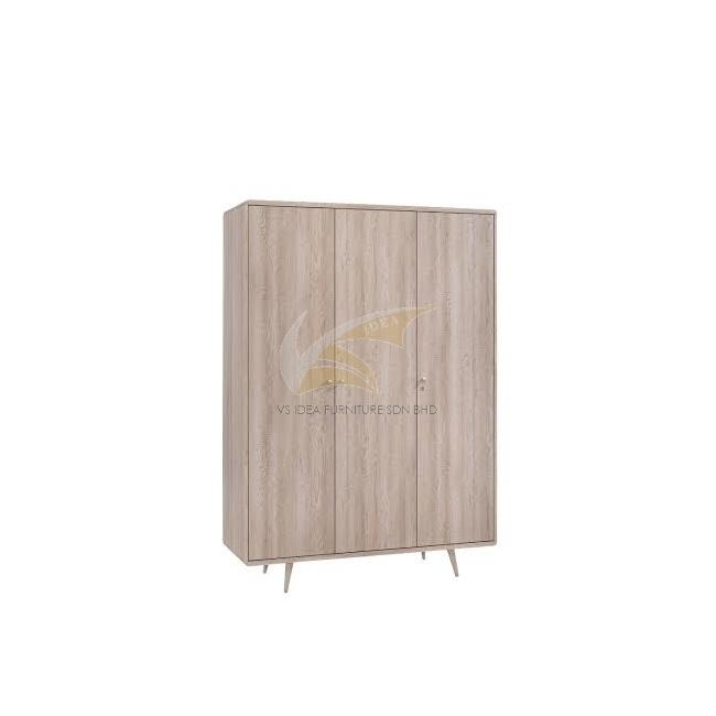 IDEA 103 (EXTERNAL) 3 DOORS WARDROBE