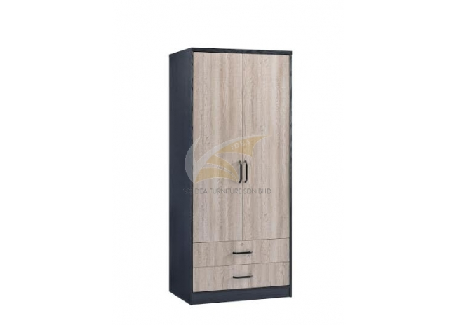 IDEA 306 (EXTERNAL) 2 DOORS 2 DRAWERS WARDROBE