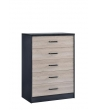 IDEA 311 TALLBOY IN 5 DRAWERS