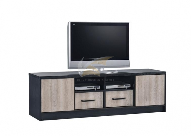 IDEA 317 ENTERTAINMENT UNIT WITH 2 DOORS 2 DRAWERS