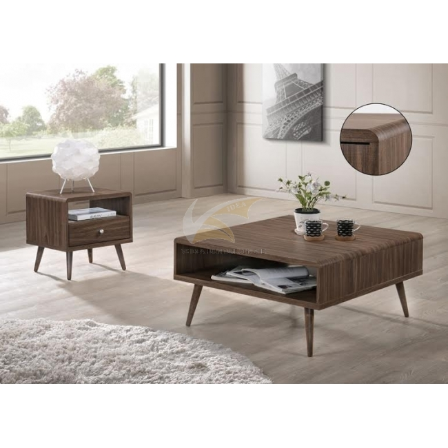 IDEA 104 + 128 END TABLE AND COFFEE TABLE